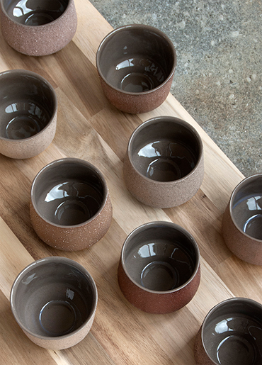 Clay Collection, cups - Marin Jansen